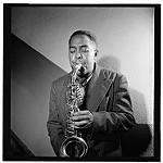 Portrait of Charlie Parker, Carnegie Hall, New York, N.Y., ca. 1947 (LOC) Gottlieb, William P., 1917