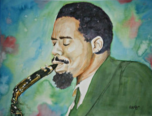 Eric Dolphy, Portrait, Out to Lunch by Kansasj, Deviant Art